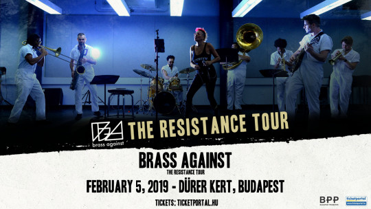 Brass Against concert in Budapest