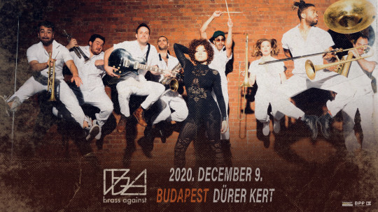 NEW DATE - Brass Against concert 2020
