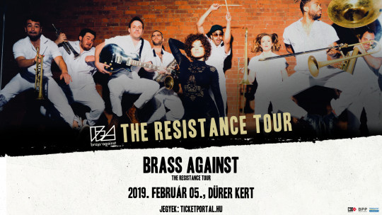 Brass Against: The Resistance Tour, Budapest