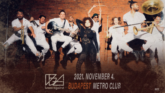 NEW DATE - Brass Against concert 2021