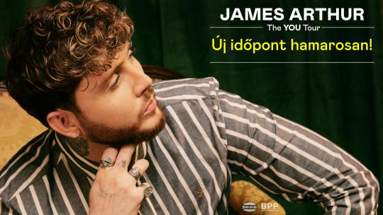 ELHALASZTVA - James Arthur: The You Tour 2020 | Budapest
