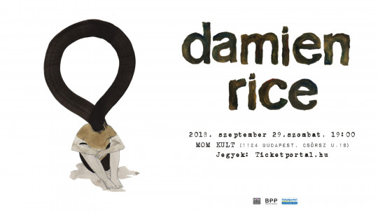 Damien Rice először Budapesten