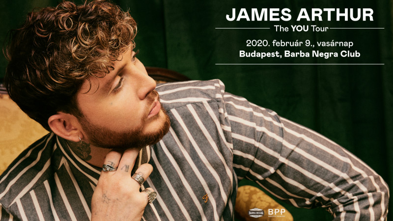 James Arthur - The You Tour 2020 | Budapest