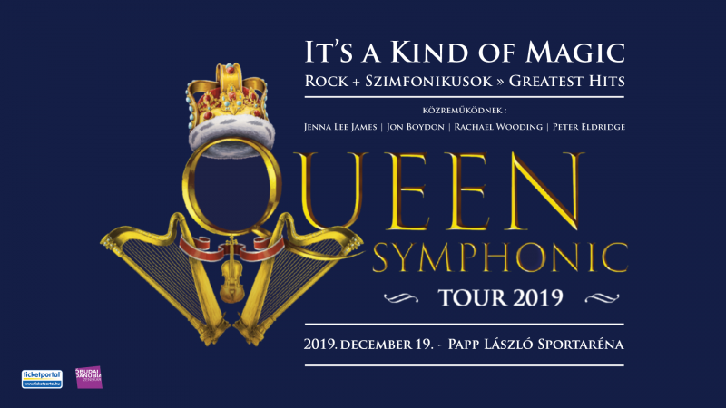 Queen Rock and Symphonic Show - Budapest