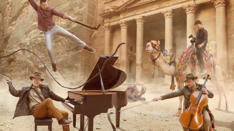 "THE PIANO GUYS: ""UNCHARTED"""