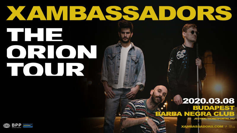 X Ambassadors - The Orion Tour   2020 Budapest