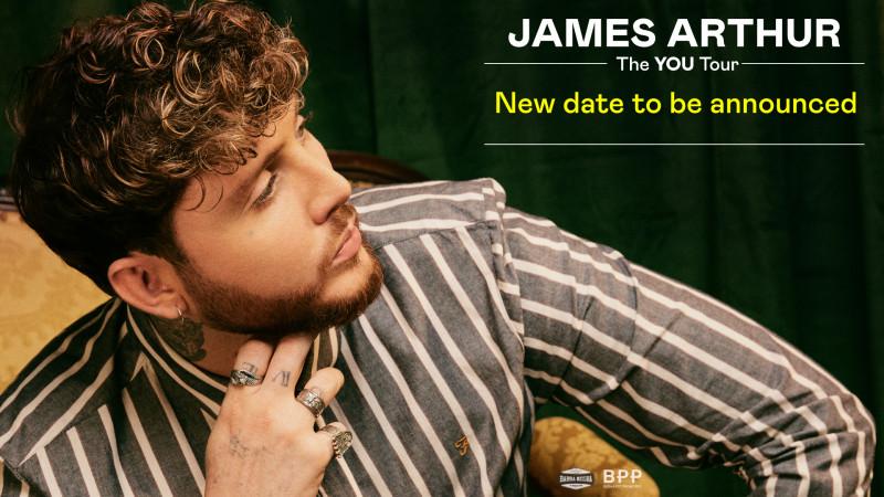 POSTPONED - James Arthur: The You Tour 2020 | Budapest